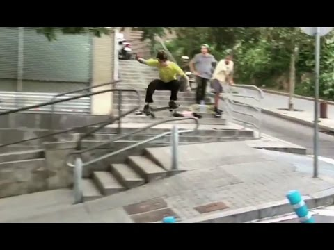 High Speed Gap to Rail Smith Grind to Hillbomb!?!! - Behind the Clips - Mathias Torres