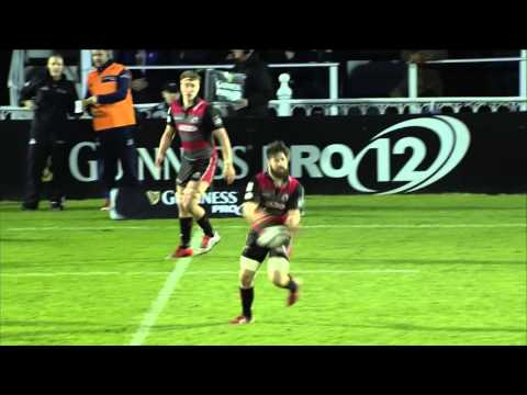 Leinster go clear at the top v Edinburgh | Guinness PRO12 Highlights