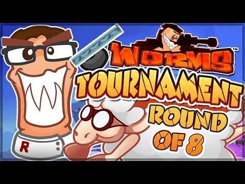BEST GAME EVER - Worms W.M.D. Tournament! (Quarterfinals - 1) (My Round)