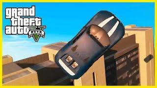 AWESOME GTA 5 CAR STUNTS MONTAGE!