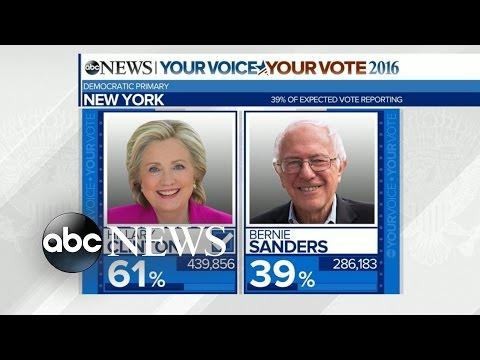 Hillary Clinton Wins New York Democratic Primary