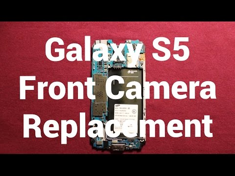 Samsung Galaxy S5 Changing The Front Camera