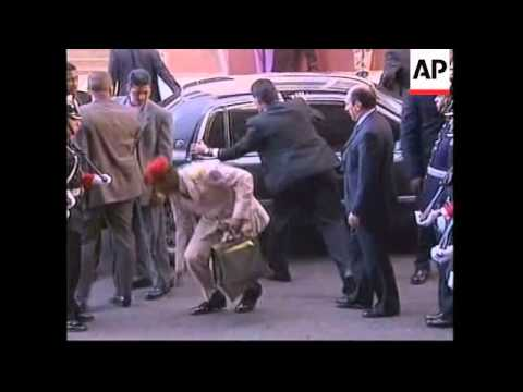 Venezuelan President Hugo Chavez visits Colombia