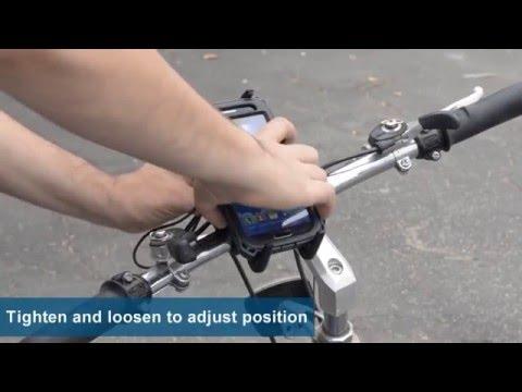 Samsung Galaxy S5 S4 Bike Mount - Bicycle and Motorcycle Handlebar S5 S4 Mount | Arkon SM632