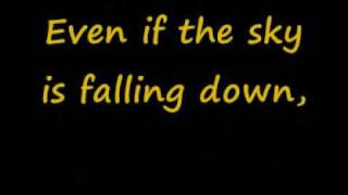 sky is falling down lyrics