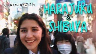 Visiting Harajuku and Shibuya! // japan vlog #4.5