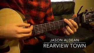 Rearview Town // Jason Aldean // Easy Guitar Lesson