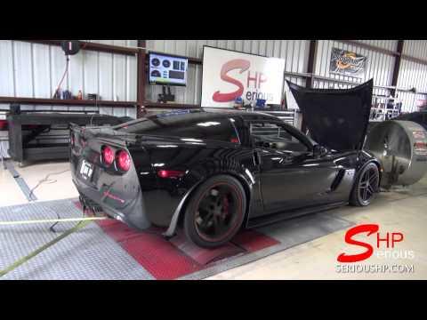 Corvette Z06 LSXR Intake Manifold / SHP Custom Camshaft / SHP Tuning G