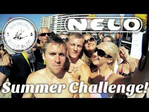 Ben Brown - ∆ Ben Brown Vlog ∆ Nelo Summer Challenge 2011
