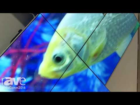 InfoComm 2016: Almo Pro A/V Previews Video Wall with Samsung UD46E Displays
