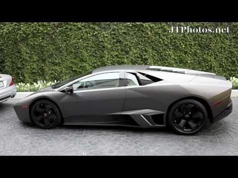 Lamborghini Reventon driving in Beverly Hills