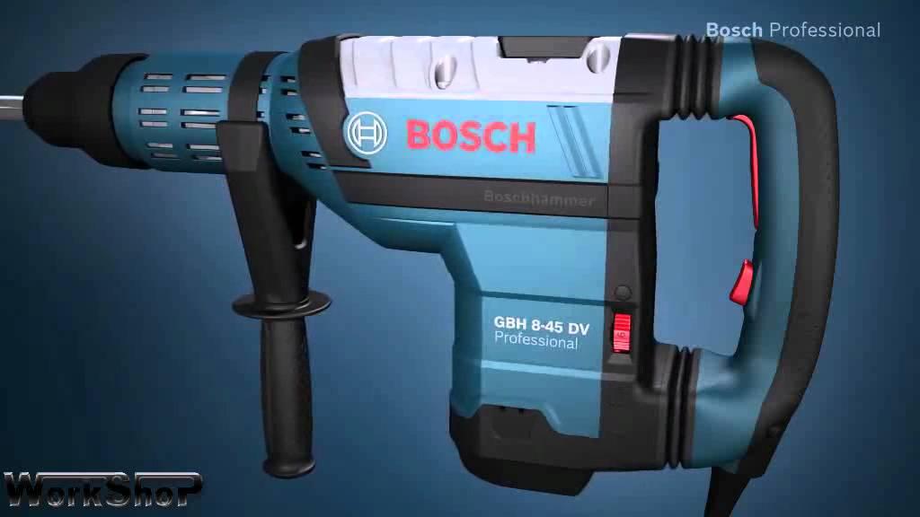martello demolitore perforatore bosch gbh 8 45 dv professional italiano youtube. Black Bedroom Furniture Sets. Home Design Ideas