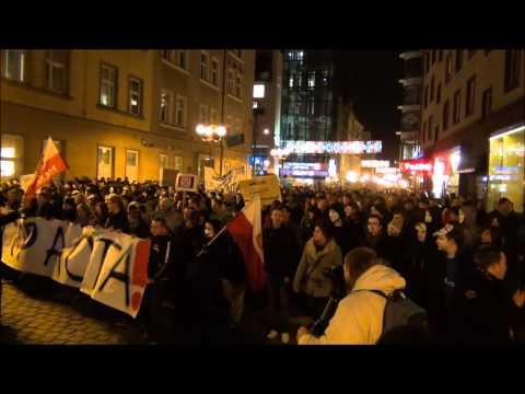 Manifestacja STOP ACTA We Wrocławiu, 25.01.2012