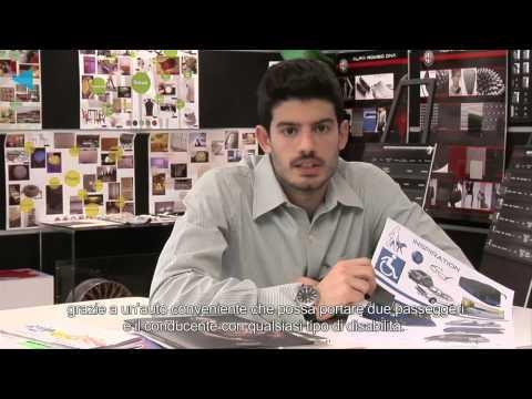 Design, Future, Accessibility - contest Fiat ACEA - winner Thanos Pappas