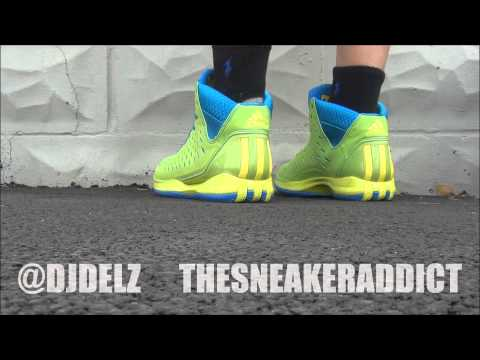 adidas D.Rose III Fresh Prince 90's Throwback Sneaker Review With @DjDelz