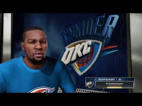 NBA 2K16 Thunder @ Clippers (PS4) 60FPS