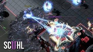 360° STARCRAFT 2 SURROUND! - Serral vs Stats