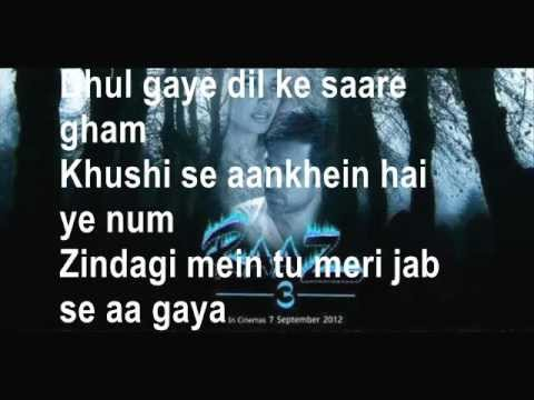 Dewana Kar Raha Hai (HD) with Lyrics - Raaz 3
