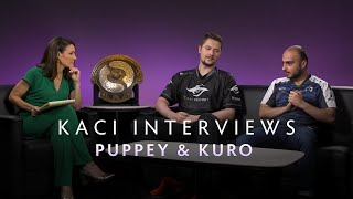 Puppey and KuroKy Interview with Kaci - The International 2019