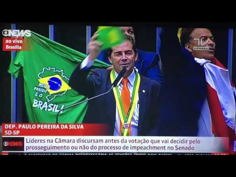 a do Dep Paulo Pereira da Silva