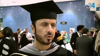 حفل تخريج الدفعة التاسعة من طلاب جامعة أبوظبي