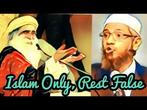 Sadhguru & Zakir Nair : Views on Religion .