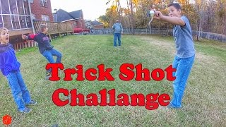 Fishing Trick Shot Challenge