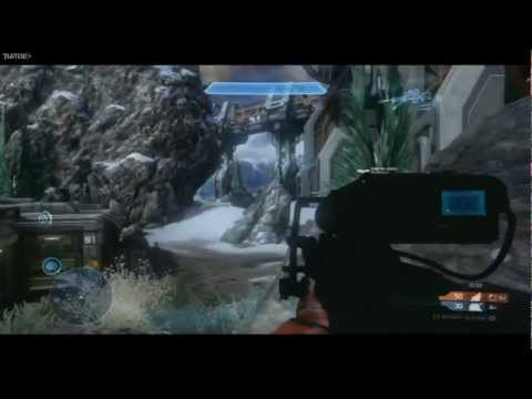 """Halo 4"" Infinity Slayer On Longbow Multiplayer Gameplay"