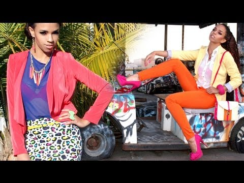 Bright Colors! 9 Outfit Ideas - Spring Fashion Outfits with Bright Colors & Neon Lookbook