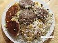 КЮФТЕ ПЛОВ с фаршем, нутом. Küftəli aş ( küftə-plov ) Азербайджанская кухня