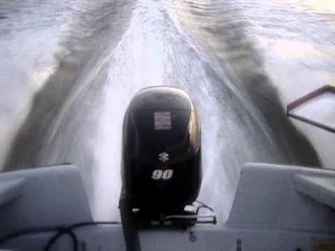 2010 Suzuki Df90a Outboard Running 4000rpm Df90
