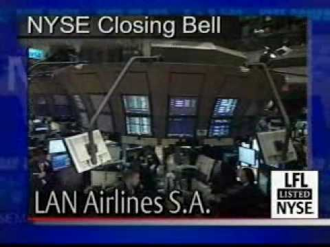 NYSE The Closing Bell® LAN Airlines Nov 6th 2007