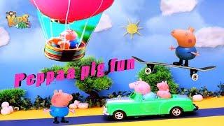 Peppaa Pig Fun   Cartoons for Children   For Kids