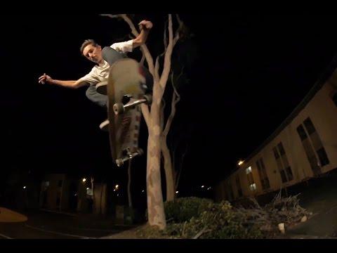 #fromwhereiskate: Ben Fisher's Backside Flip Over Gap in San Diego