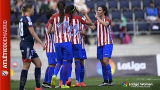 #LaLigaWomens | Linköpings FC 1-9 Atlético de Madrid Femenino