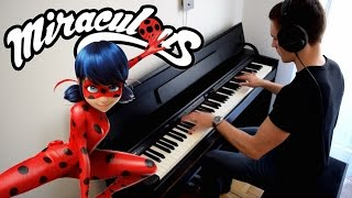 MIRACULOUS LADYBUG - Theme Song / In The Rain (Piano)