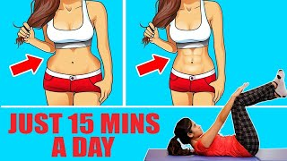 5 Simple Exercises to Reduce Belly Fat At Home | Weight loss | Fat Loss | Women Workouts