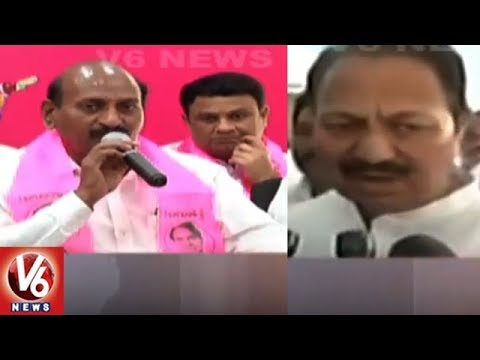 TRS Leaders Vs D Srinivasa Rao Over Group Politics In Nizamabad | V6 News
