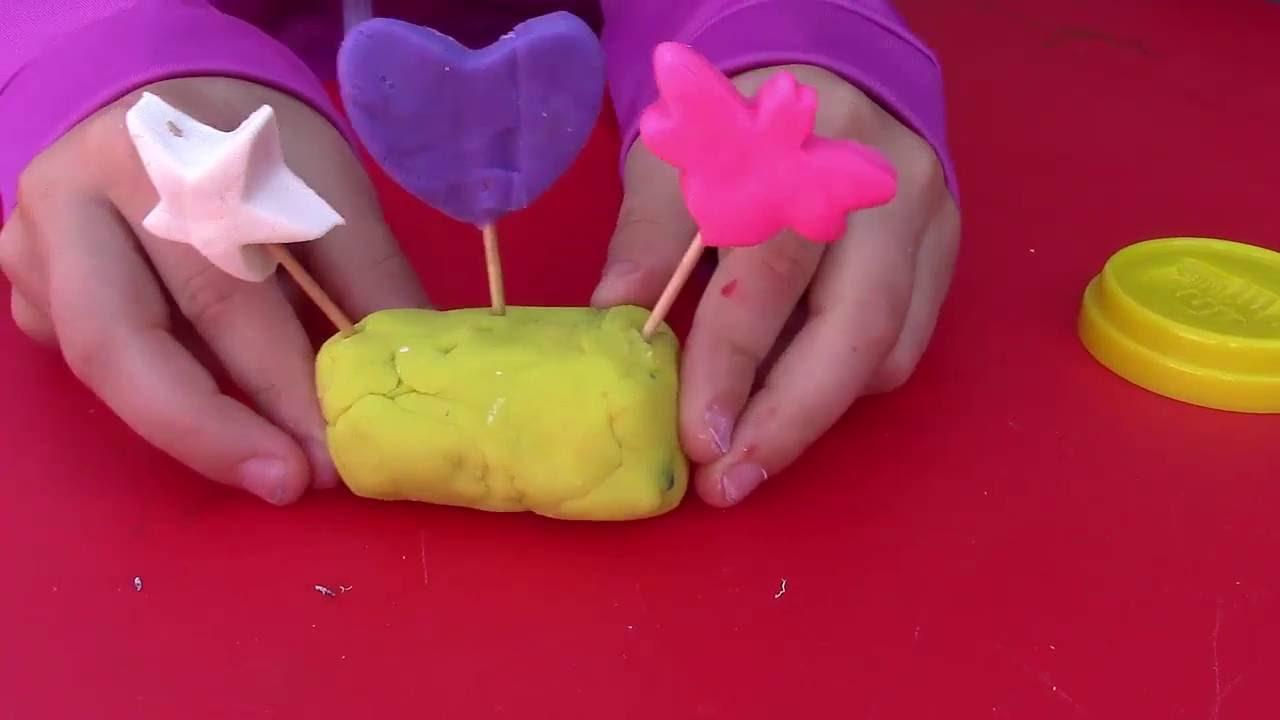 Сладости из пластилина своими руками
