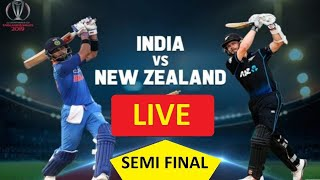🔴 LIVE PTV SPORTS || INDIA VS NEW ZEALAND Live 1st Semifinal | Star Sports Live | Game Play