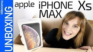 Apple iPhone Xs MAX unboxing -el iPhone más GRANDE de la historia-