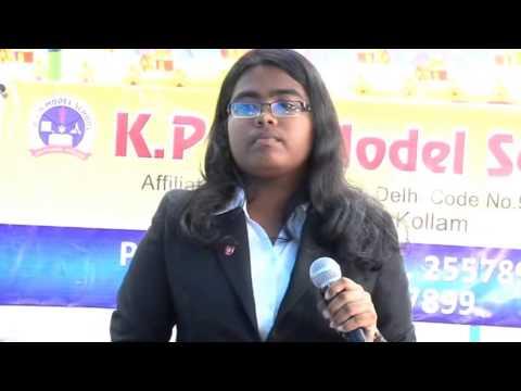 English A Day By Aiswarya T Anish (10th Grade Student) At Kpm Model School,mayyanad,kerala,india video
