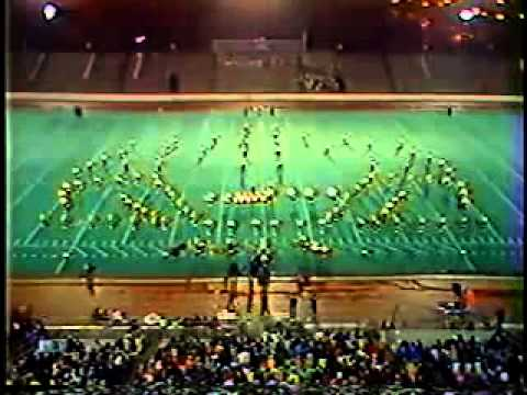 1983 Bradley Central High School Marching Band at MTSU Contest of Champions