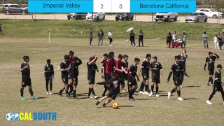National Cup 14U Boys Final: Imperial Valley United FC vs Barcelona CA