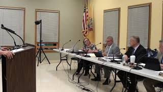 Phillipsburg town council meeting 6-18-19 Mr Bullock speaks about roof