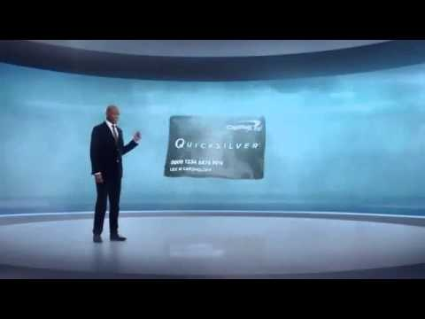 Capital One Quicksilver Cashback Card TV Commercial, Feat. Samuel L. Jackson