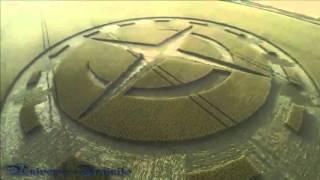 """-Fascinante Circulo  de las cosechas en """"Stonehenge""""  10 de Julio del 2015"""