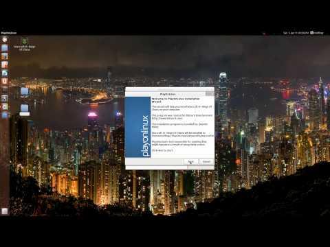 Ubuntu 12.04: Warcraft 3 + TFT Install Playonlinux