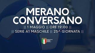 Serie A1M [25^]: Merano - Conversano 27-24