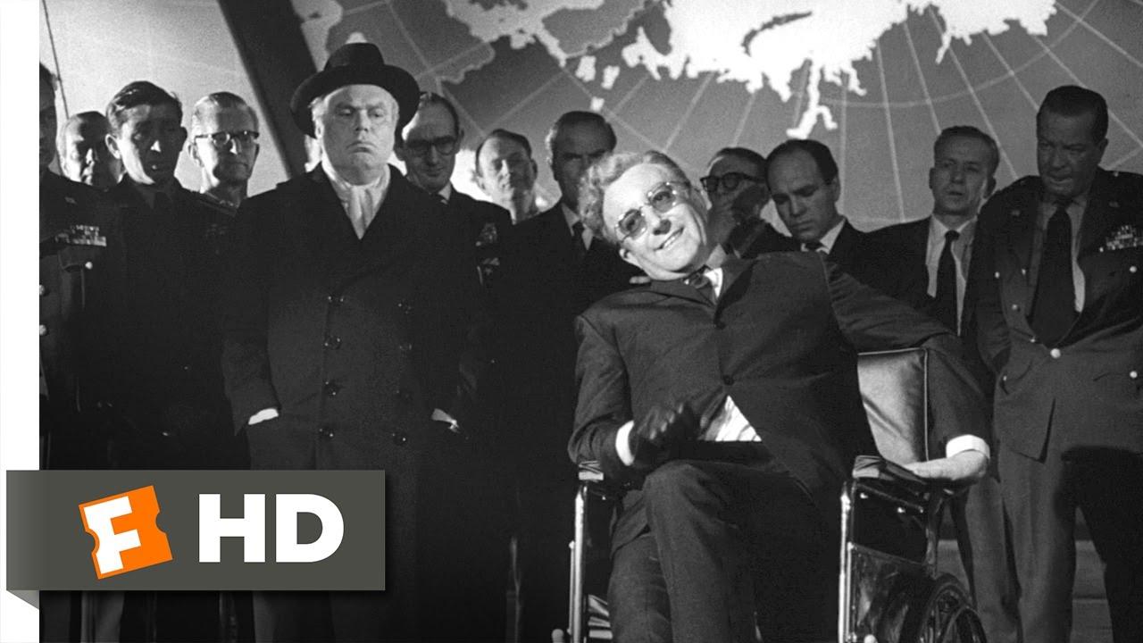 Dr Strangelove 8 8 Movie Clip Living Underground